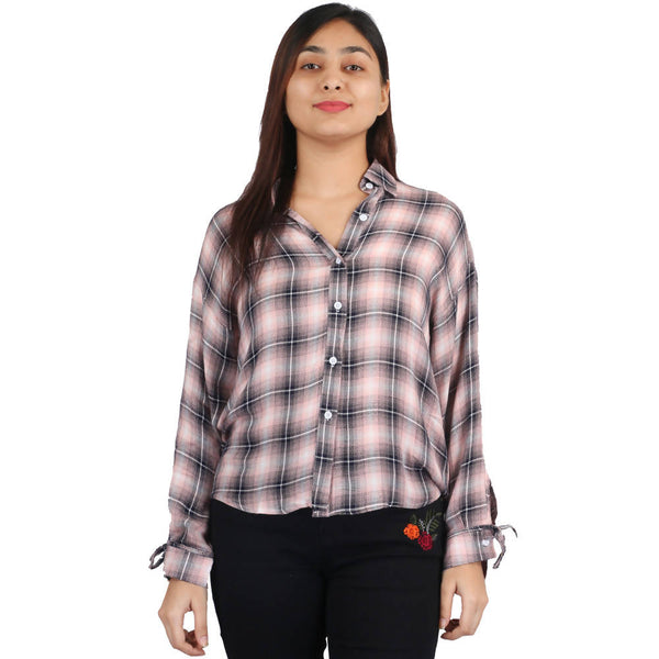 Fahiontiara Collection of cotton rayon Casual Women Western Wear Shirts $ FTS21