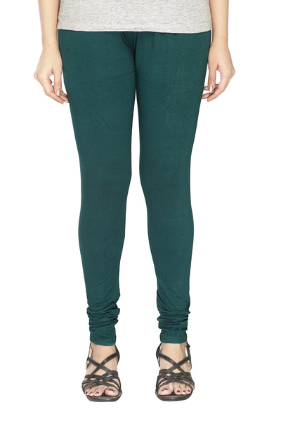 Minu   Premium Deep Sea Green  womens  Leggings $ PL_38
