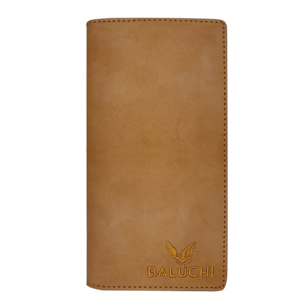 Baluchi Tan Rough Long Wallet for Men & Women $ BLC_LNGWLT_TAN_02