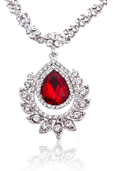 Ruby Allure Necklace - JIDMNEC4100
