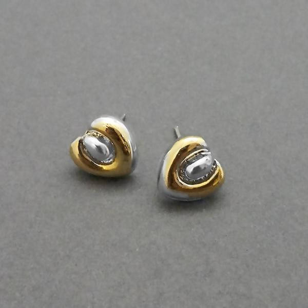 Tanishka Fashion 2 Tone Plated Stud Earrings $ 1310734