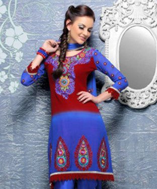 Shantoon Lining Suit with Dupatta