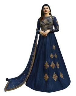 YOYO Fashion Joya Silk Anarkali Salwar Suit $ YO2-F1272