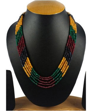 Aradhya Onyx, Beads Crystal Necklace