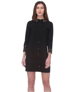 Glam a gal black tunic