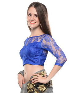 Nika Poly Lace Blouse
