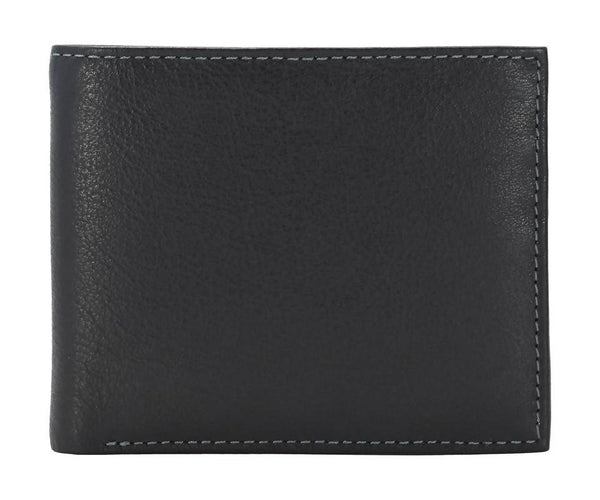 Annodyne Men's BLACK EVAN Genuine Leather Wallet_A530WM $ R_A530WM_BLK
