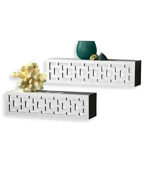 THE NEW LOOK Decorative Wooden Wall Shelf-100000813536