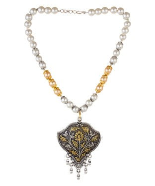 Aradhya Alloy Jewel Set (Gold, Silver)