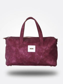 Strutt Women Purple Leatherette Cabin Baggage $ SMD158