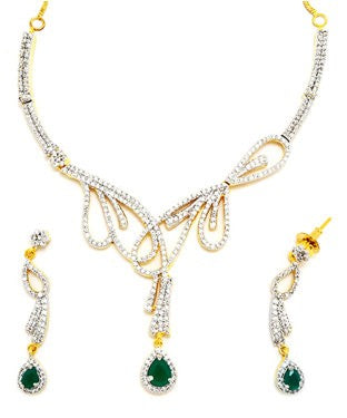 Fashionera Necklace with Earrings