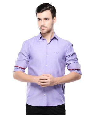 Smith & Co Purple F/S Shirt