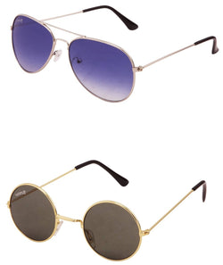 Benour pack of 2 Unisex Sunglasses $ BENCOM207