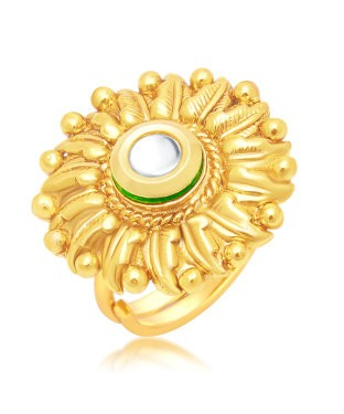 Sukkhi Attractive Gold Plated Ring For Women