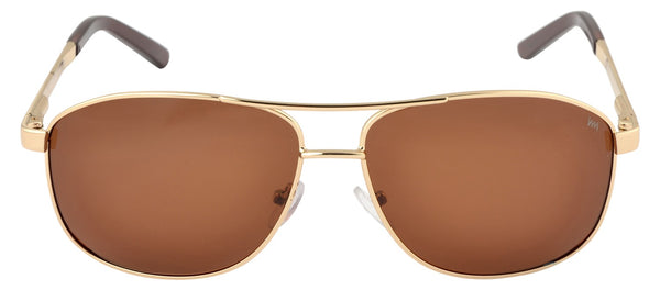 Lawman UV Protected Brown Unisex Sunglasses-LawmanPg3 Sunglasses LM4511 C3 (Brown)