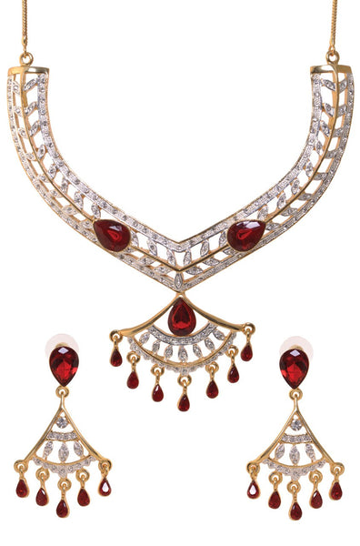 BAUBLE BURST Necklace with Earrings-100000939305