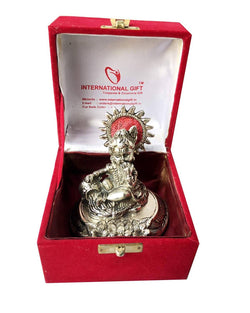Silver Plated Laddu Gopal Murti with Velvet Box Packing Exclusive Gift for Diwali Gift and Wedding Gifts $ IGSPBR101060