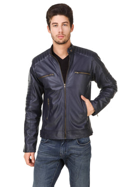 Smerize Men's Wolverine Faux Leather Jacket $ 13SM