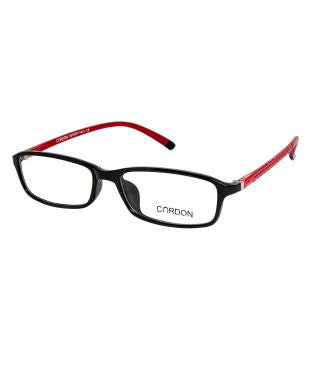 Cardon Black Rectangular Full Rim EyeFrame