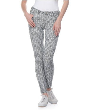 United Colors Of Benetton Grey And White Trouser