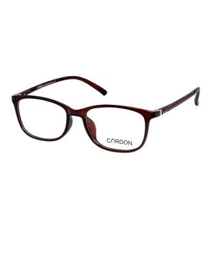 Cardon Brown Rectangular Full Rim EyeFrame