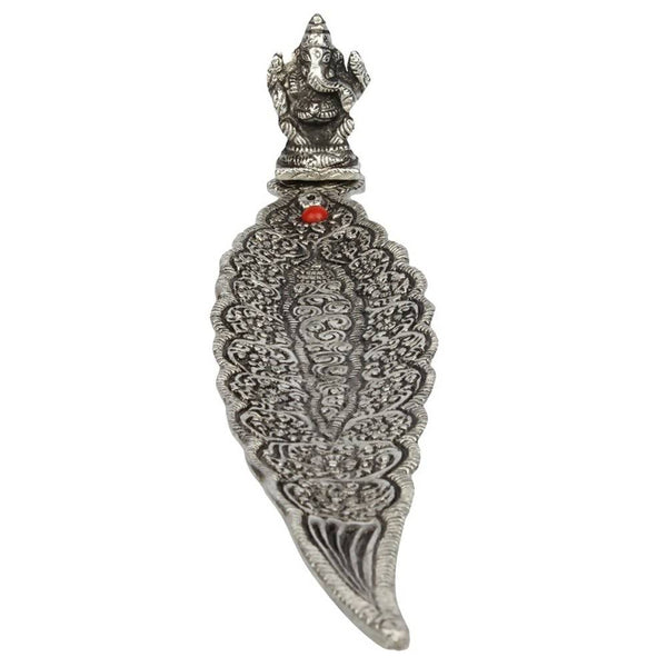 Silver Finish Incense Stick Holder Exclusive Gift for Diwali Gift, Wedding Gift, Birthday Gift and Corporate Gift Item $ GSI-132