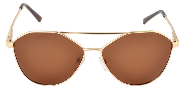 Lawman UV Protected Brown Unisex Sunglasses-LawmanPg3 Sunglasses LM4508 C3 (Brown)