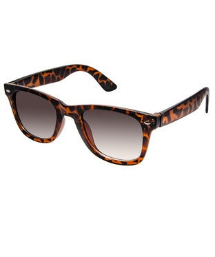 Cardon Tiger Brown Wayfarer Sunglass