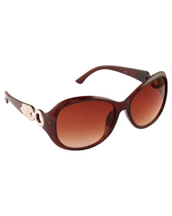 Brown Smart Sunglasses For Women-AD_1225_BrownBrown