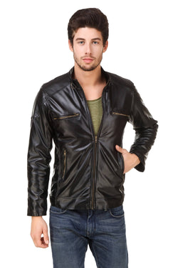 Smerize Men's Wolverine Faux Leather Jacket $ 17SM