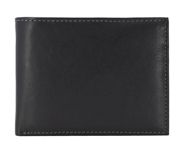 Annodyne Men's BLACK ALKAIOS Genuine Leather Wallet_A537WM $ R_A537WM_BLK