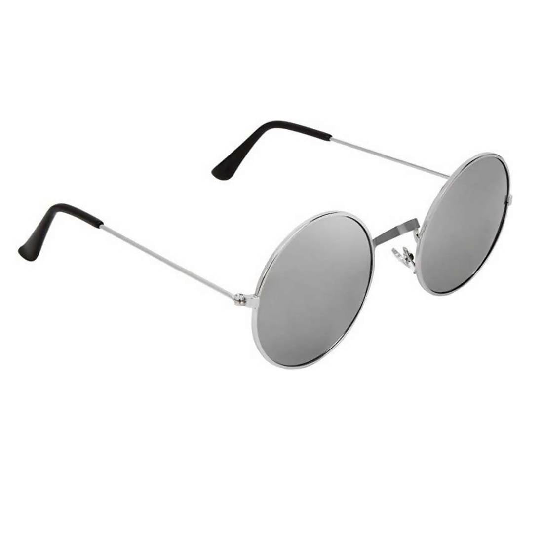 b2af94425 Benour Men's Silver Round Sunglasses $ BENAV060 – Fashion And You