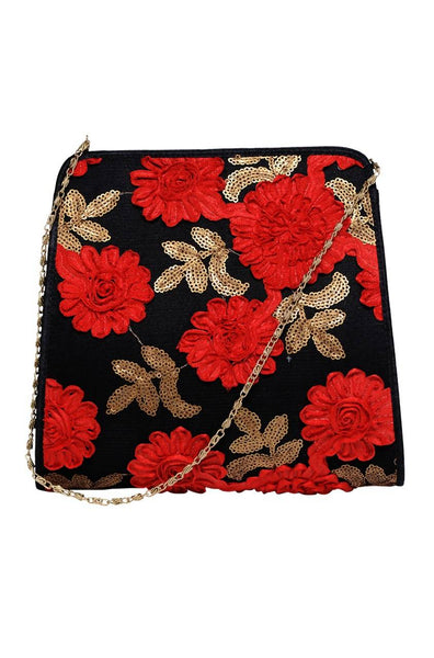 Red  Bloom Bag - JBUSSBG9755