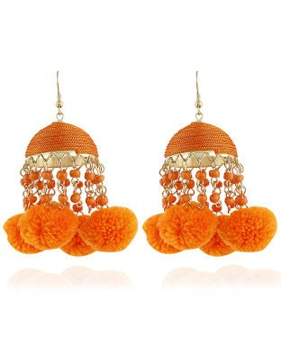 Aradhya Beads Alloy Jhumki Earring