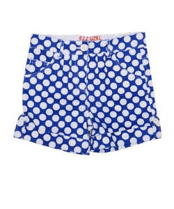 612 League Blue And White Shorts