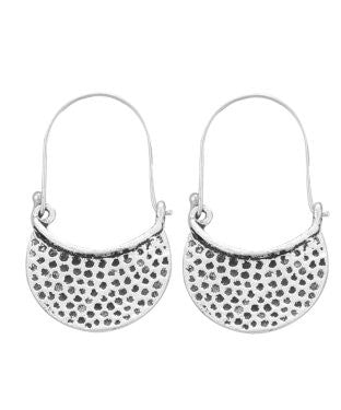 Aradhya Metal Hoop Earring, Drop Earring, Dangle Earring