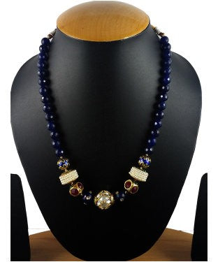 Aradhya Pearl Stone Necklace