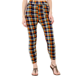 Baluchi's Check Plaid Print Jeggings $ BLC_JEG_13