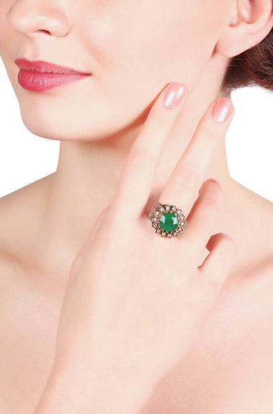 Bauble Burst Limelight  Ring