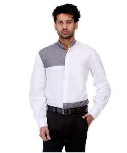 Josh Goraya White And Grey F/S Shirt