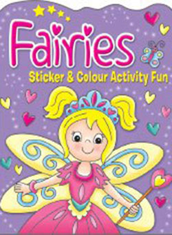 Fairies Sticker And Colour Activity Fun Book 3