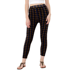 Baluchi's Check Plaid Print Jeggings $ BLC_JEG_12