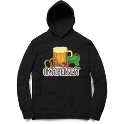 Partum Corde Unisex Black Sweat Shirts And Hoodies OKTOBERFEST $ OKTOBERFEST6048