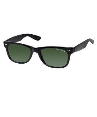 David Blake Grey Wayfarer UV Protected Sunglass