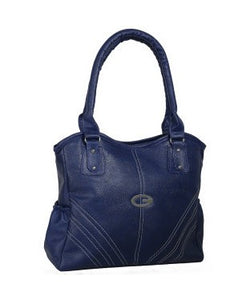 KACEY Navy Blue PU Handbag