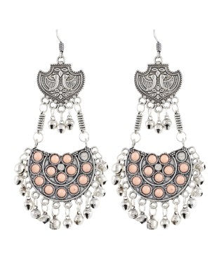Aradhya German Silver Dangle Earring