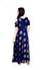 Libas Closet's Women A Line style long kurta/ Gown (Navy Blue) $ L-104