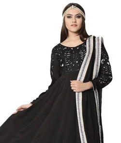Anarkali Suit with Churidaar and Dupatta AW_100000704018