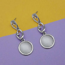 Tanishka Fashion Silver Plated Dangler Earrings $ 1313676