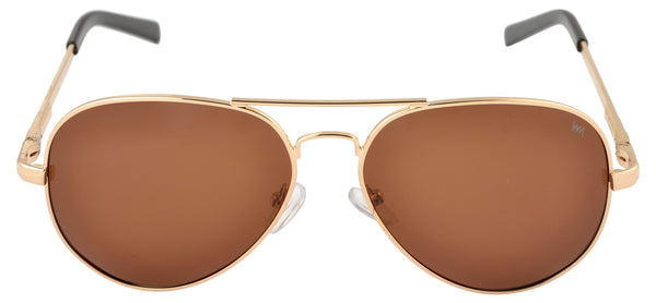 Lawman UV Protected Brown Unisex Sunglasses-LawmanPg3 Sunglasses LM4513 C3 (Brown)